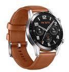 montre connectee huawei watch gt 2 marron 46mm