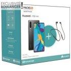 smartphone huawei pack p30 noir freelace