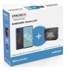 smartphone samsung pack a51 noir enceinte jbl go 2
