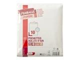 gpv packn post - 10 pochettes bulle - 210 x 265 mm - avec b