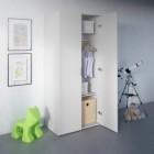 armoire 2 portes pyla blanc