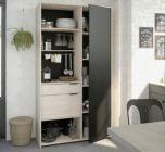 armoire de cuisine loft 0828arpt / imitation chene
