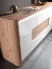 buffet 2 portes/3 tiroirs bellini checircne/blanc