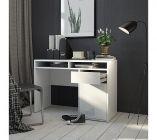 bureau 1 porte et 1 tiroir best lak 3 blanc laqueacute