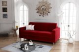 canapeacute convertible 3 places gatsby tissu velours rouge