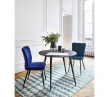 chaise clohe bleu