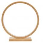 circle bambou ronde d32 circle beige