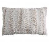 coussin 40x60 cm siberie gris