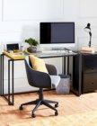 fauteuil de bureau emily gris