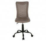 fauteuil de bureau luxe 2 taupe