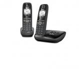 photo  GIGASET Téléphone sans fil répondeur AS470A DUO NOIR