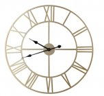 horloge d70 cm station dore