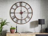 horloge o 76 cm station noir