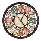 horloge oslash 80 cm athena multicolor