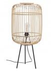 lampadaire en bambou mirage h73 cm beige