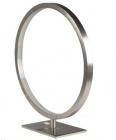 lampe a poser circle led 2 nickel
