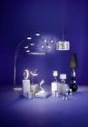 lampe agrave poser carlita chrome-argent