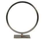 lampe agrave poser circle led 2 nickel