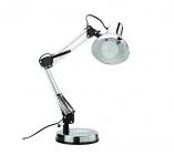 lampe de bureau archi chrome