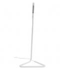 lampe de bureau led h33 cm fynn blanc