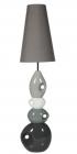 lampe de sol thalia gris