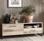 meuble tv l136 roof bois de palettes vieilli