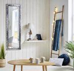 miroir 53x153 cm pavla argente