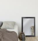 miroir 71x102 cm tarik noir