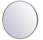 miroir o 80 cm kyo noir