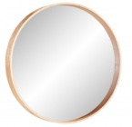 miroir rond o70 upsala bois