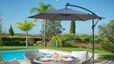parasol deacuteporteacute d 300 cm diva gris