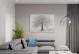 peinture fait main 120x90 cm arbre de vie multicolore