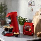 philips machine agrave dosettes senseo hd6563/81 viva cafeacute rouge