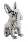 statue doggydog silver