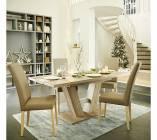 table avec allonge vito dark san remo