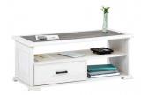 photo Table basse CAMILLE imitation chêne blanchi/ gris