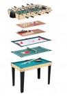 table multijeux table multijeux naturel