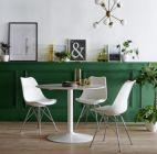 table ronde elias blanc