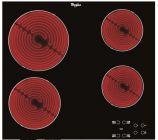 table vitroceramique akt8090ne noir whirlpool