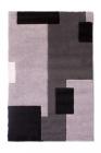 tapis 100x150 cm tetris gris
