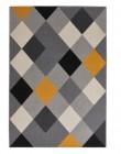 tapis 160x230 cm trio multicolor
