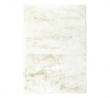 tapis fausse fourrure 150x200 jacob blanc