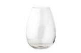 photo  Vase en verre H. 24 cm EDEN Transparent