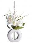 vase orchidee artificielle