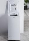 whirlpool lave-linge top tdlr65212 blanc