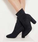 boots suedine femme