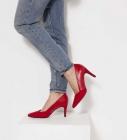 escarpins rouge femme