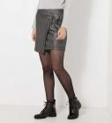 jupe drapee irisee femme