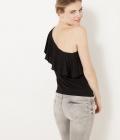 t-shirt asymetrique irise femme