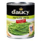 12 boites dharicots verts extra fins ranges a la main daucy